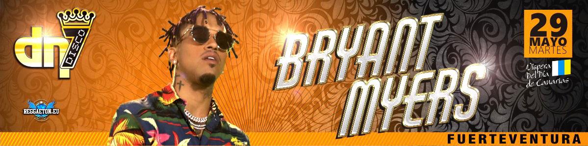 Bryant Myers en concierto el 29 de Mayo de 2018 en la discoteca DN7. Venta de entradas en Mastaquilla.com