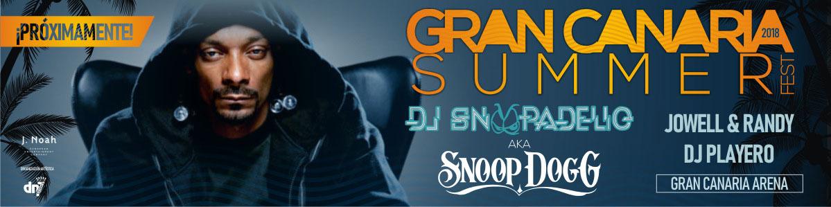 DJ Snoopadeliq en fin de verano. Venta de entradas en Mastaquilla.com