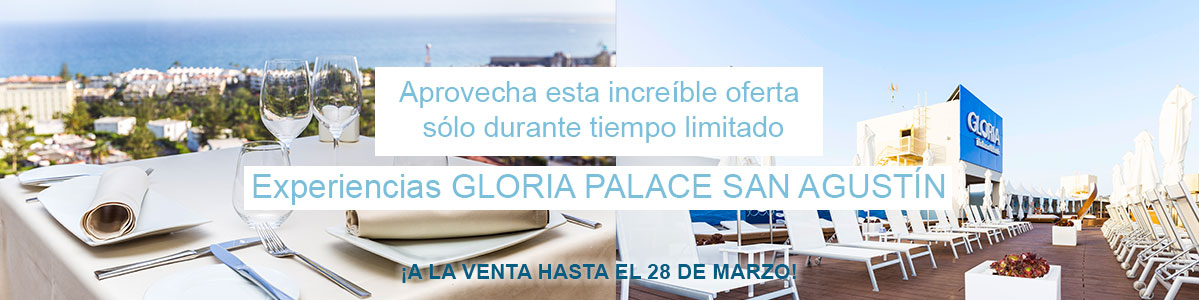 Gloria Palace Oferta Menú Degustación Gorbea y Hamacas Chill Out