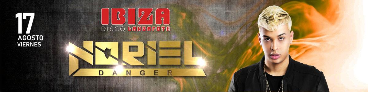 Noriel en Disco IBIZA Lanzarote el 17 de Agosto de 2018