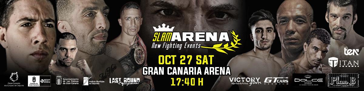 SLAM ARENA GRAN CANARIA 2018 el 27 de Octubre de 2018 en el Gran Canaria Arena. Venta de entradas en Mastaquilla.com