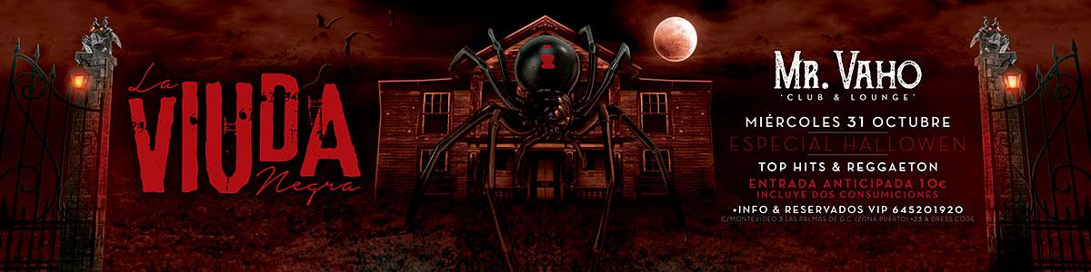 La viuda Negra - Especial Halloween - Mr. Vaho