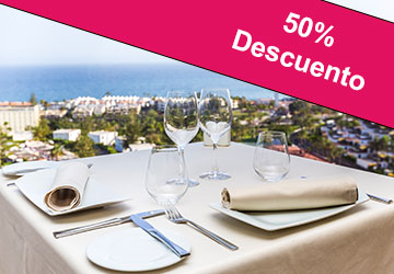 50% Restaurante Gorbea - Gloria Palace San Agustín