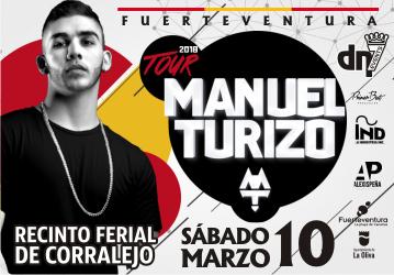 Manuel Turizo - Recinto Ferial de Corralejo