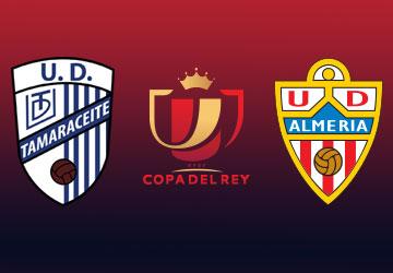 2ª Ronda Copa del Rey - UD Tamaraceite - UD Almería
