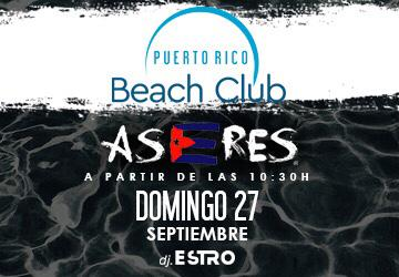 Puerto Rico Beach Club - DOMINGO 27