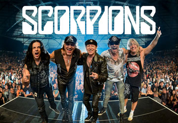 The Scorpions - CRAZY WORLD TOUR