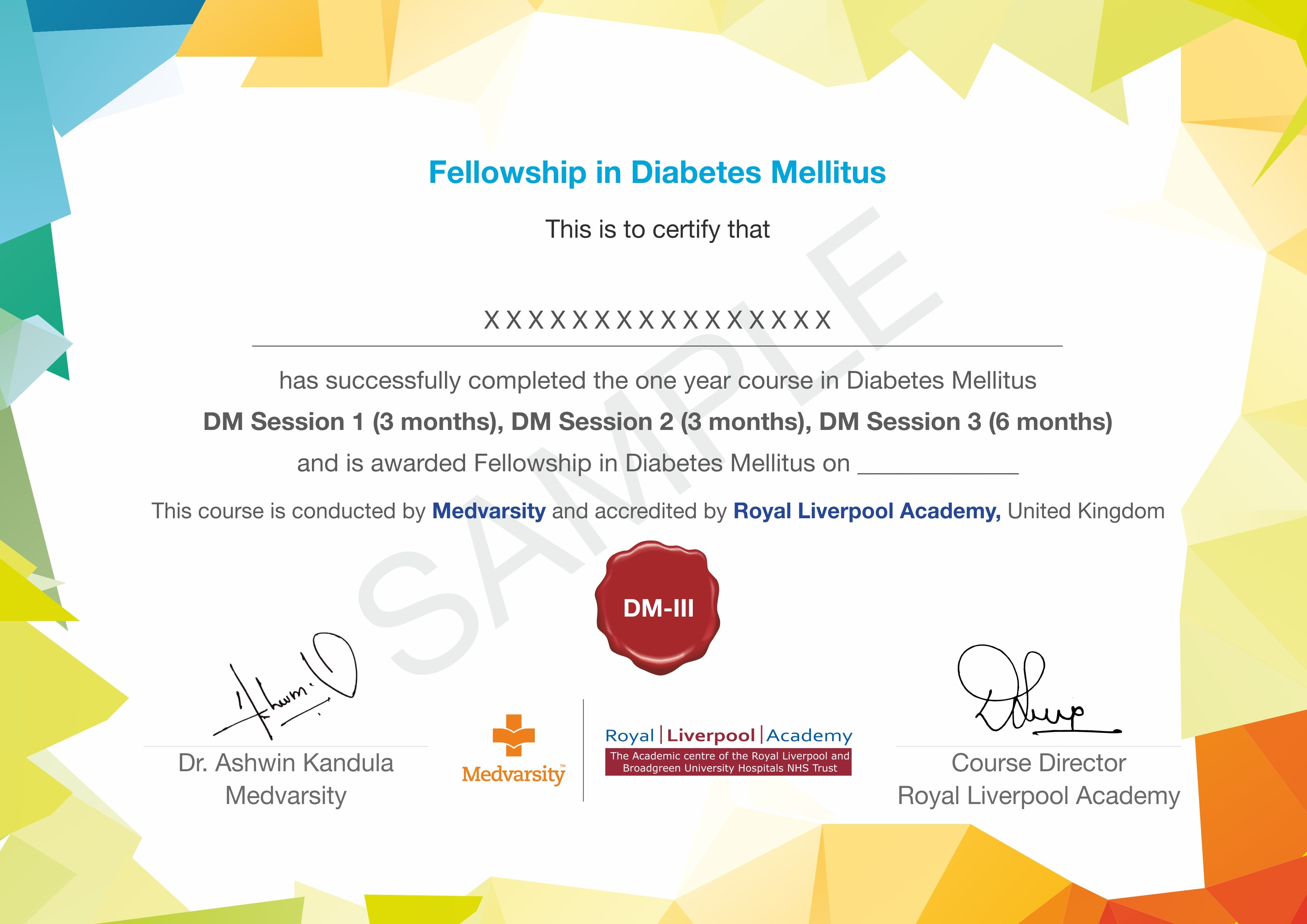 Fellowship in Diabetes Mellitus course offered by Medvarsity
