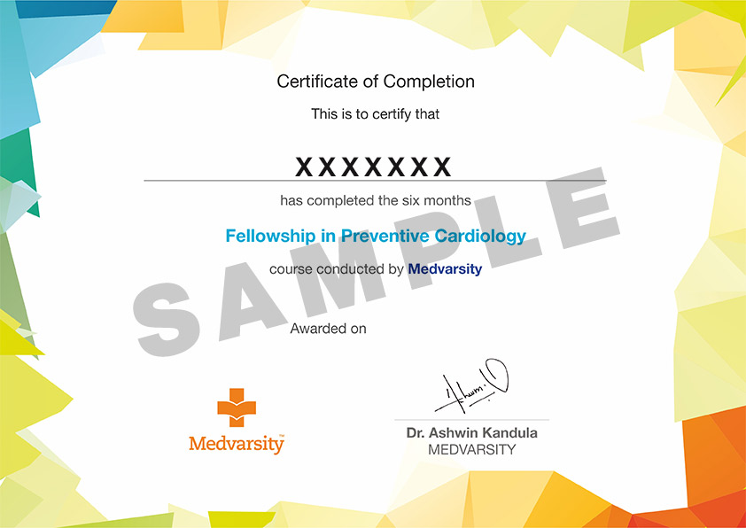 Fellowship in Preventive Cardiology by Medvarsity