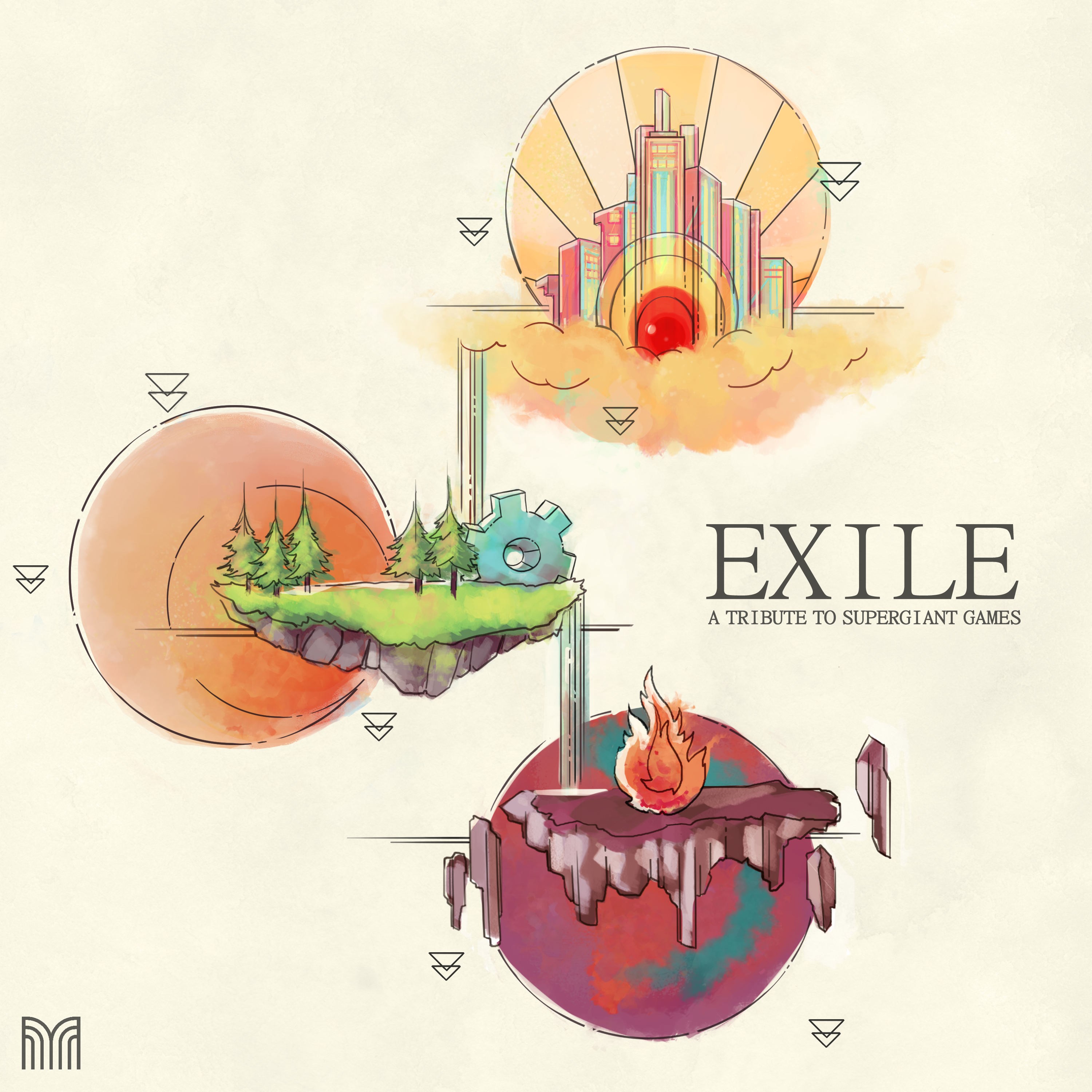 EXILE: A Tribute to Supergiant Games | Materia Collective