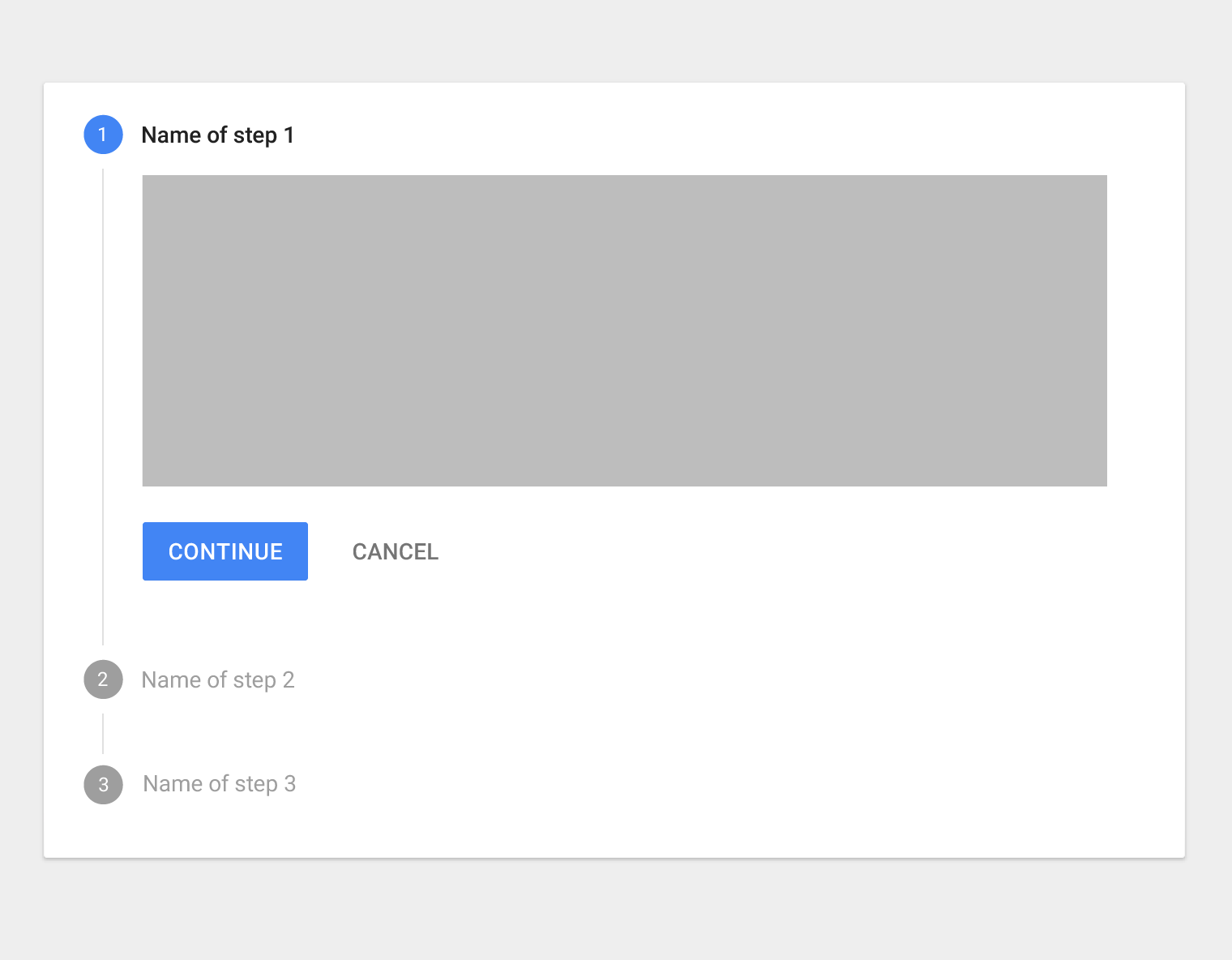Steppers - Components - Material design guidelines