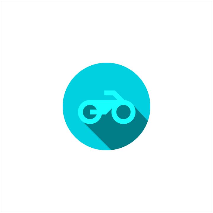 Distorted decorative logo