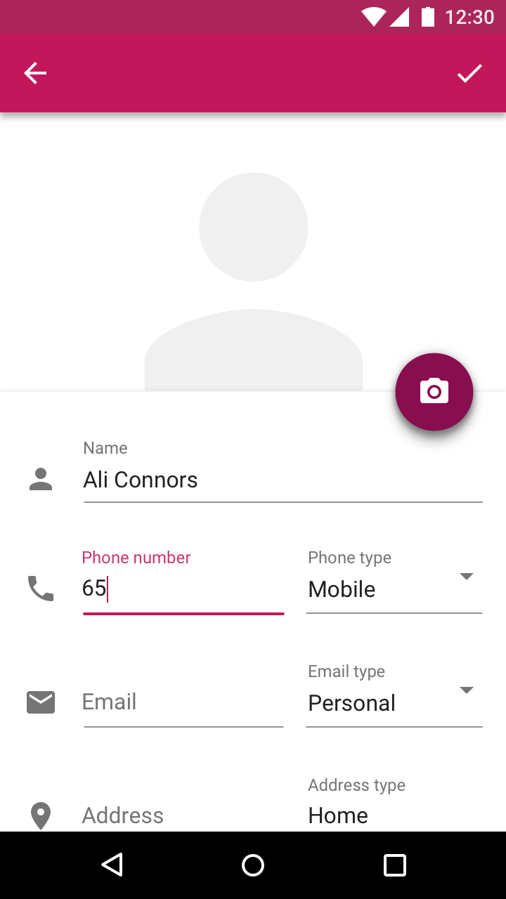 Text fields - Components - Material Design