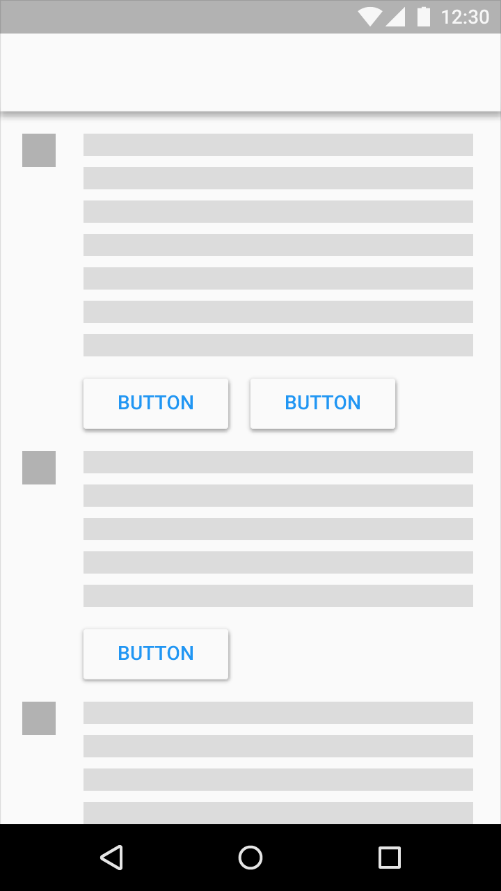 buttons components material design