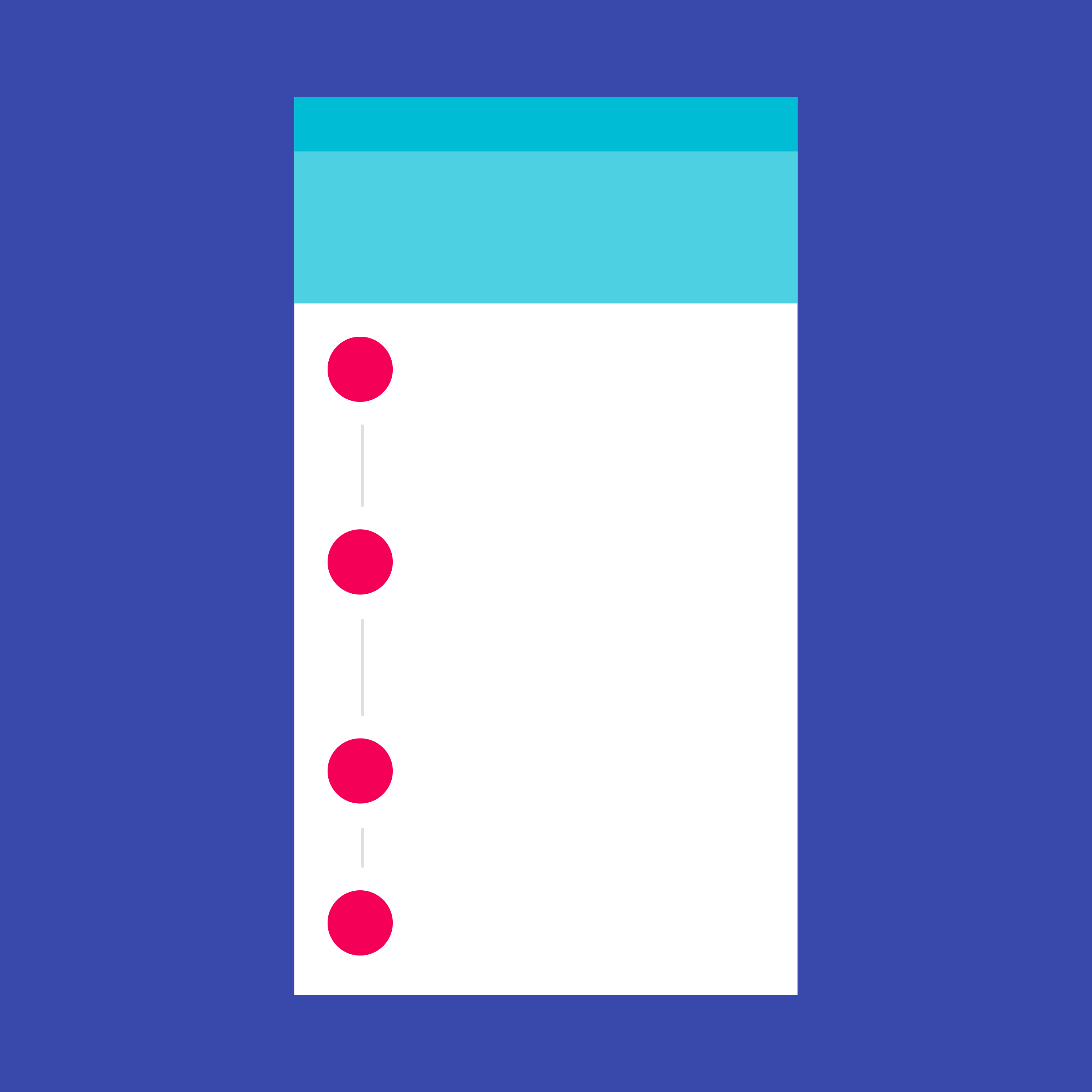 Steppers Components Material Design