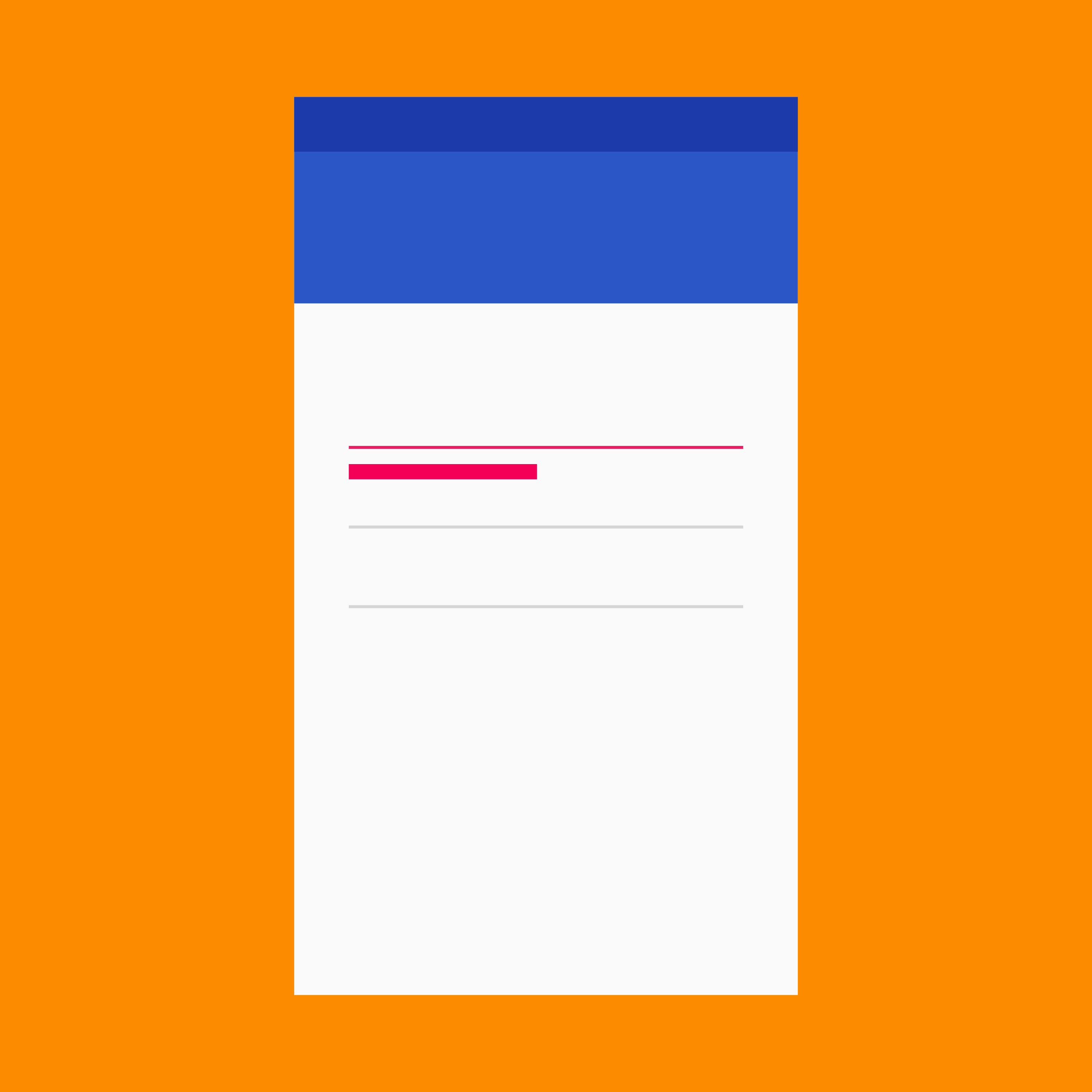 Errors - Patterns - Material Design