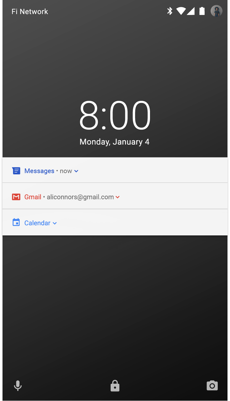 Notifications patterns material design this user has chosen to hide sensitive content from the lock screen because these apps gave their notifications a visibility level of private no content buycottarizona