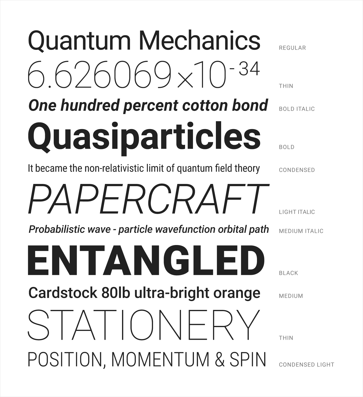 Material Design  Good Font For Resume