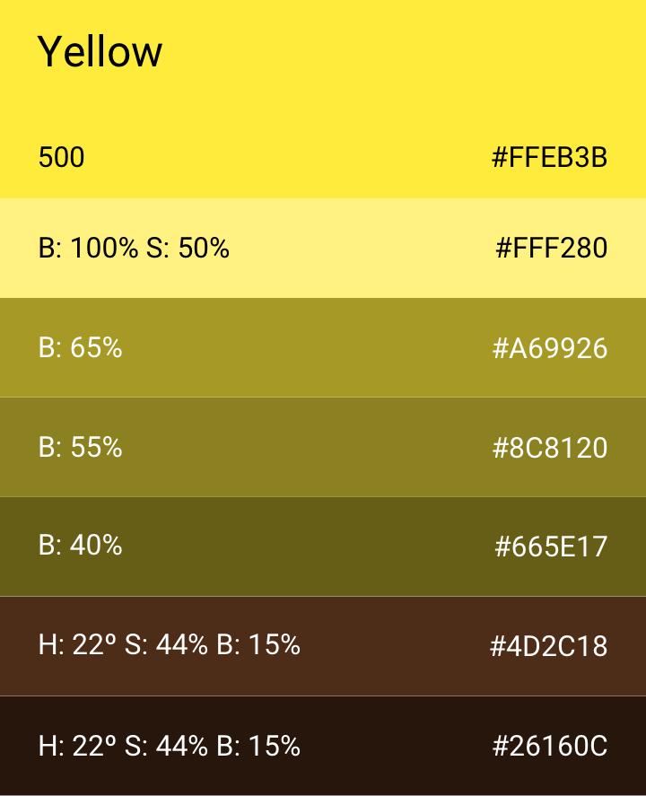 Yellow 500