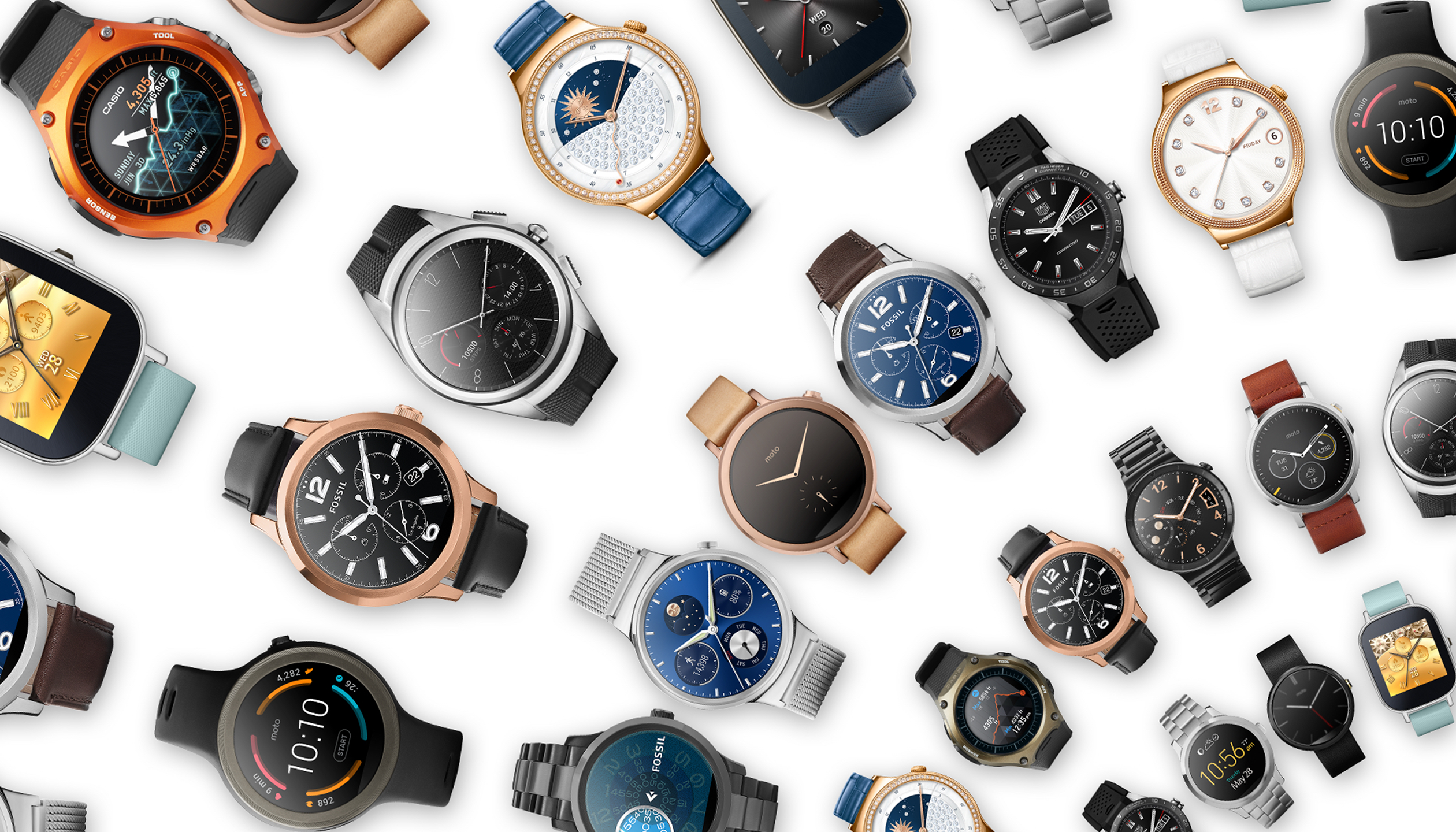 Designer android wear watchface - Style