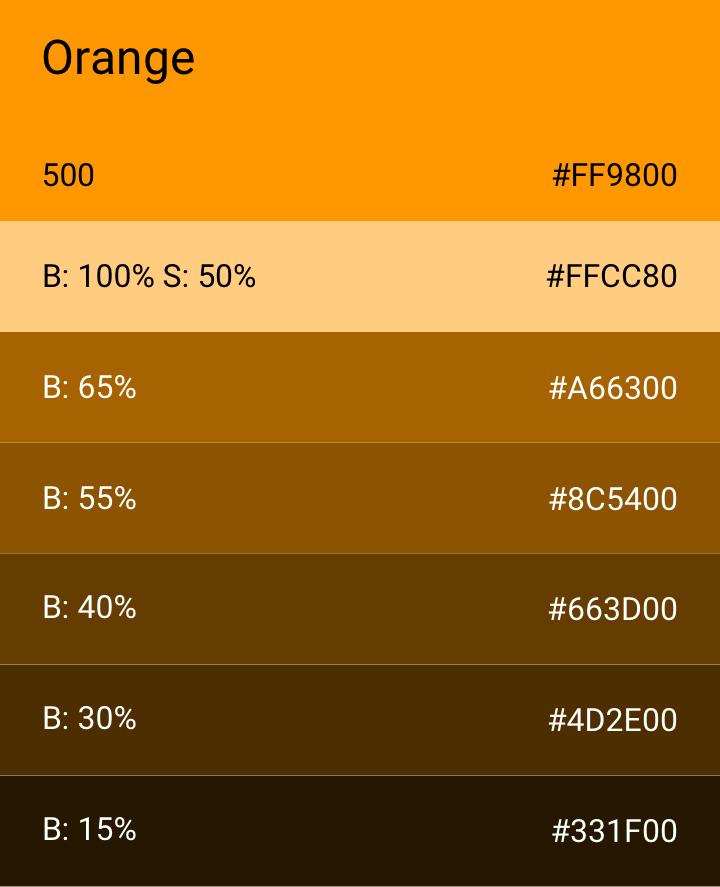 Orange 500