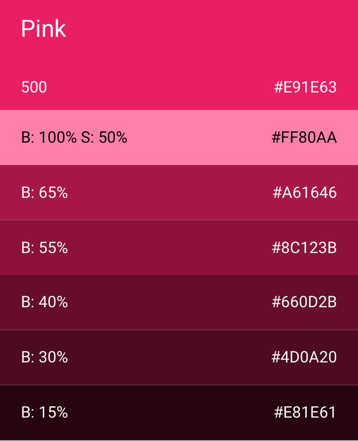 Pink 500