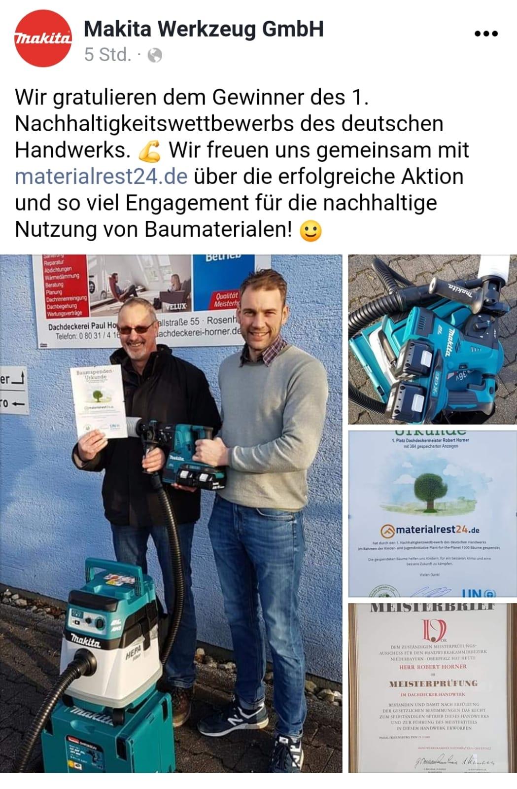 Gewinner Nachhaltigkeitswettbewerb