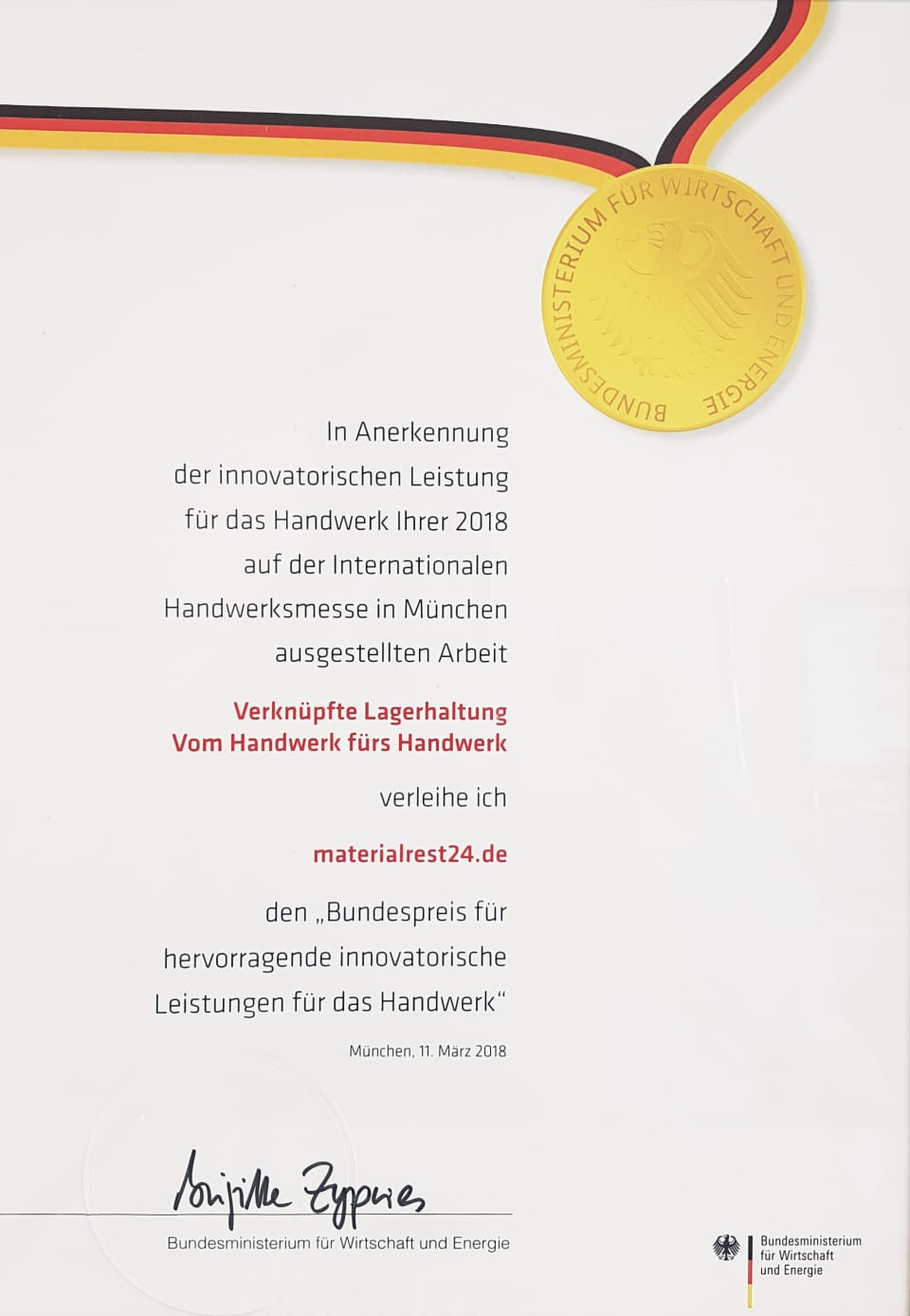 Foto Bundespreis