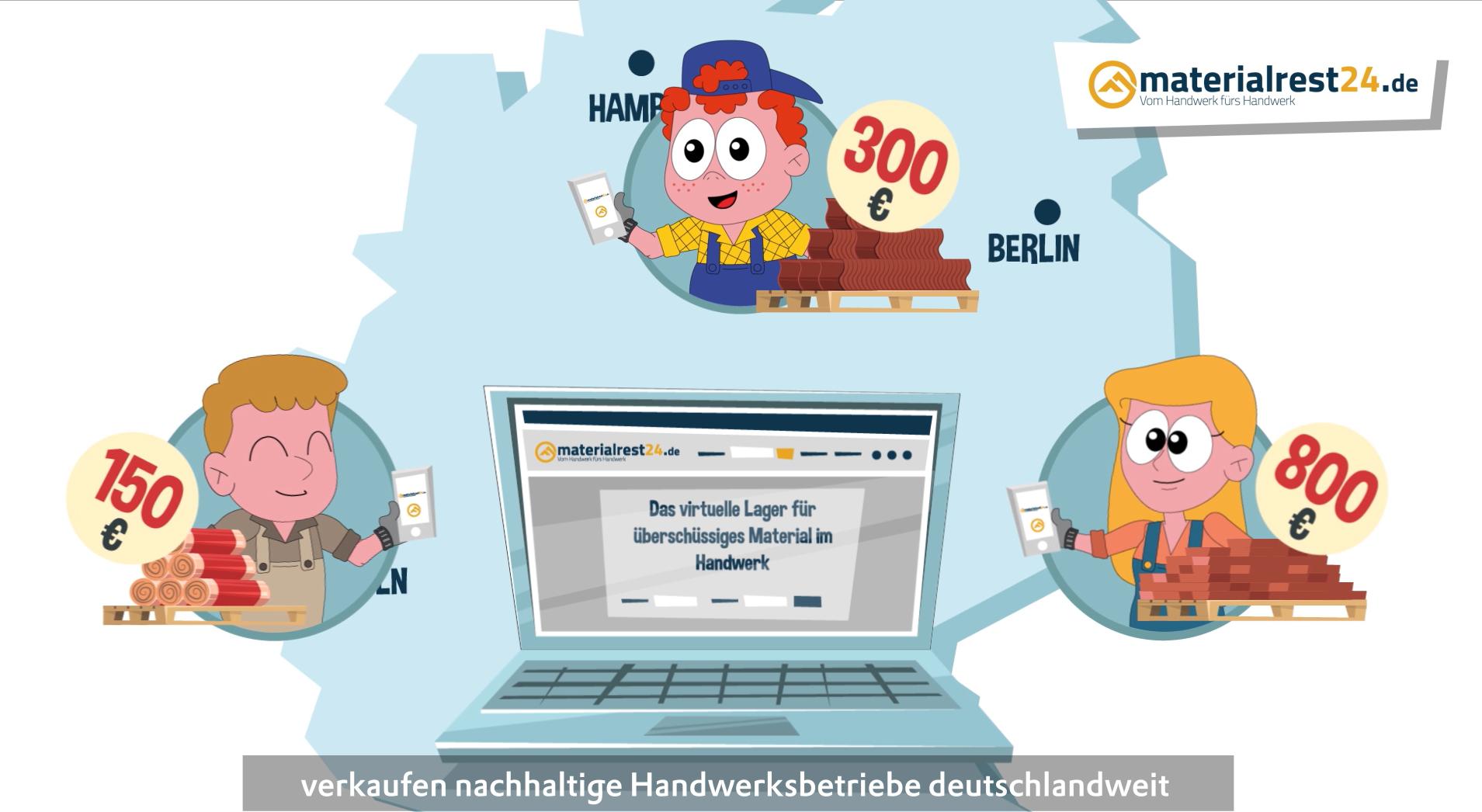 Lösung Materialrest24.de