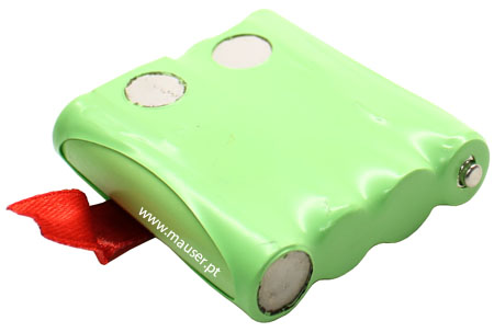 Bateria p/ walkie-talkie compatível Maxcom WT-210 (4xAAA) 850mAh NiMH 4.8V