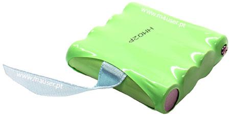Bateria para walkie-talkie compatível com Motorola TLKR-T4, TLKR-T5, TLKR-T7 (IXNN4002A) 4.8V 700mAh NiMH