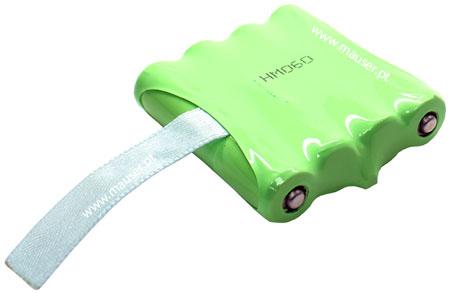 Bateria para walkie-talkie compatível com Topcom 9100 4.8V 700mAh NiMH