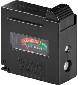Testador de Baterias e Pilhas [AAA/AA/C/D/9V/Lady N/botão]