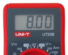 Multimetro digital compacto - UNI-T UT20B