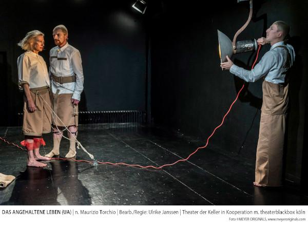 Theater der Keller - Das angehaltene Leben