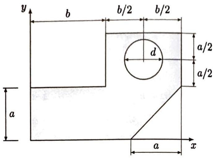 Das dargestellte abgewinkelte Bauteil ist aus einem Blech der Dicke t  ausgestanzt.