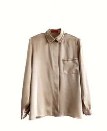 chemise satinée Devernois