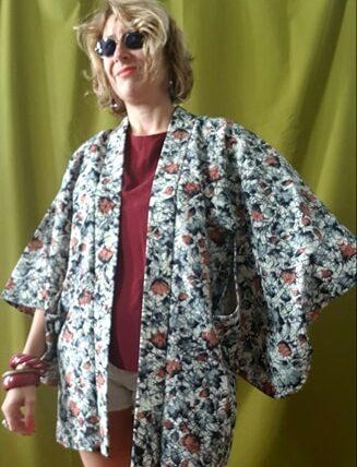 Kimono japonais vintage