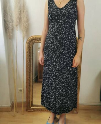 Magnifique robe fleurie vintage