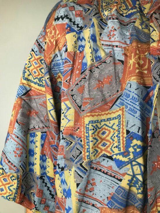 Chemise vintage à imprimés