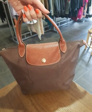 Petit Longchamps marron