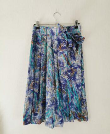 Magnifique jupe taille haute vintage