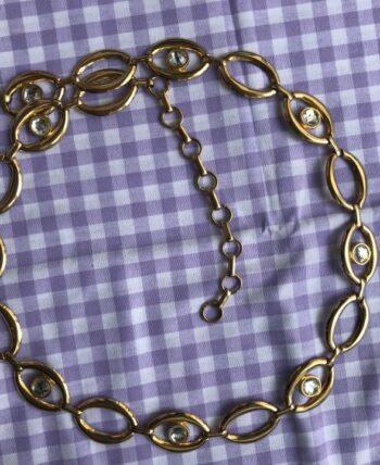 Ceinture chaîne doré