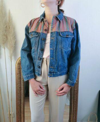 Magnifique veste en jean vintage