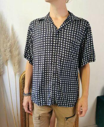 Belle chemise homme à motifs vintage