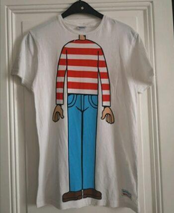 "T-shirt ""Où est Charlie?"""