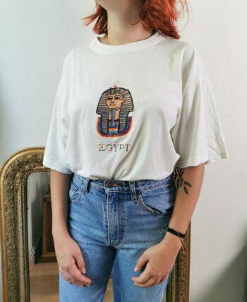Beau tee shirt égyptien Vintage