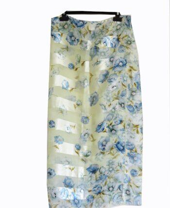 Foulard floral pastel