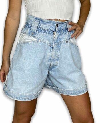 Short en jean vintage 90s ultra taille haute 🔥