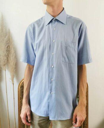 Belle chemise homme balenciaga bleu clair